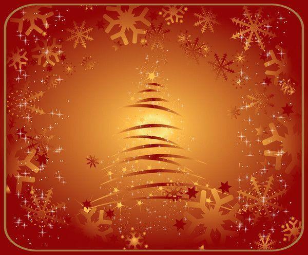 Arrière-plan hivernal / Noël